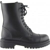 Act Shoes Γυναικεία Μποτάκια Δέρμα 81319M76 Μαύρο