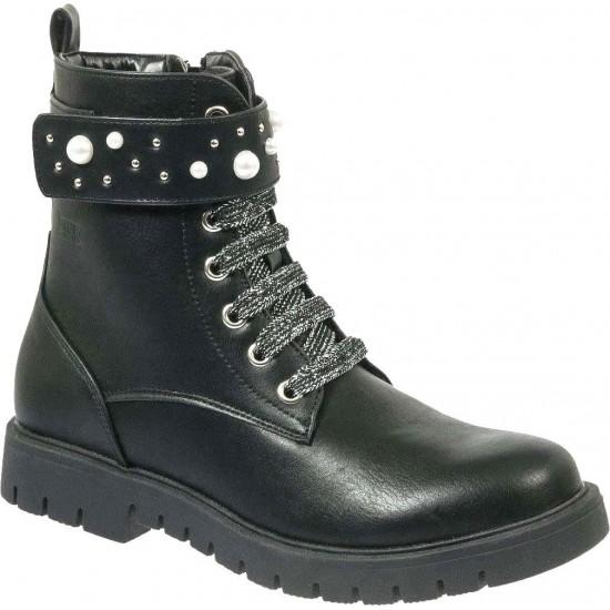 Adam's Shoes Παιδικά Μποτάκια 429-18506 Μαύρο