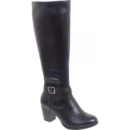 Adam's Shoes Γυναικείες Μπότες 829-19544 Μαύρο