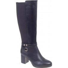Adam's Shoes Γυναικείες Μπότες 829-19543 Μαύρο
