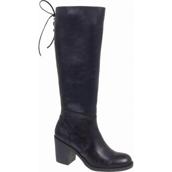Adam's Shoes Γυναικείες Μπότες 826-19503 Μαύρο