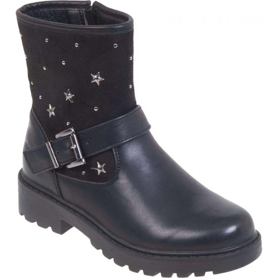 Adam's Shoes Παιδικά Μποτάκια 762-19523 Μαύρο