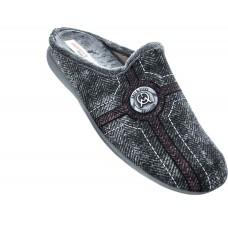 Adam's Shoes Ανδρικές Παντόφλες 701-19501 Γκρί