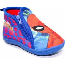 Adam's Shoes Παιδικές Παντόφλες Marvel Spiderman 420-18524 Μπλέ