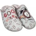 Adam's Shoes Γυναικείες Παντόφλες 624-20604 Γκρί
