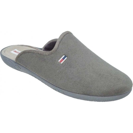 Adam's Shoes Ανδρικές Παντόφλες 624-20525 Γκρί