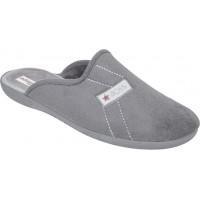 Adam's Shoes Ανδρικές Παντόφλες 624-20527 Γκρί