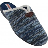 Adam's Shoes Γυναικείες Παντόφλες 742-6538 Μπλέ
