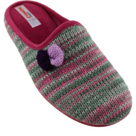 Adam's Shoes Γυναικείες Παντόφλες 742-6529 Φούξια