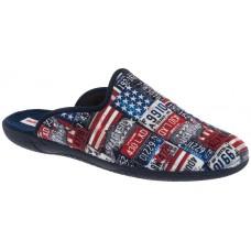 Adam's Shoes Παιδικές Παντόφλες 624-18525 Μπλέ