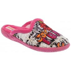 Adam's Shoes Παιδικές Παντόφλες 624-18653 Φούξια