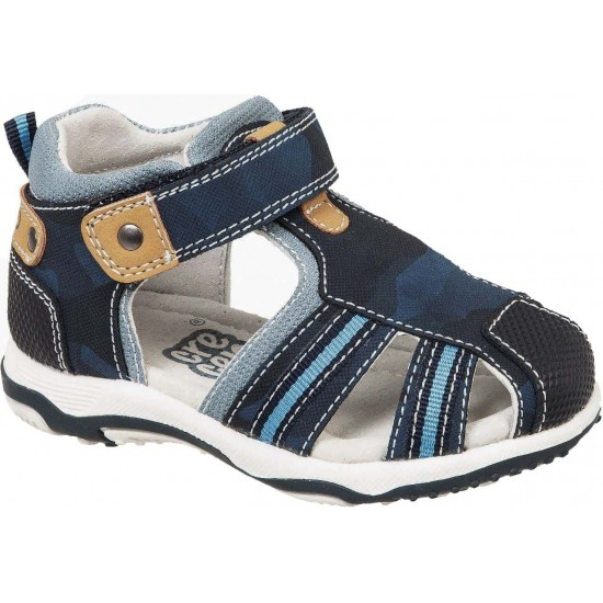 Adam's Shoes Παιδικά Πέδιλα 762-21017 Μπλέ
