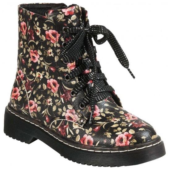 Adam's Shoes Μποτάκια 822-18536 Μαύρο