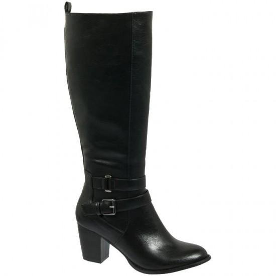 Adam's Shoes Γυναικείες Μπότες 829-18509 Μαύρο