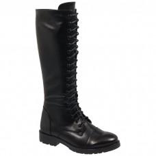 Adam's Shoes Γυναικείες Μπότες 829-18514 Μαύρο