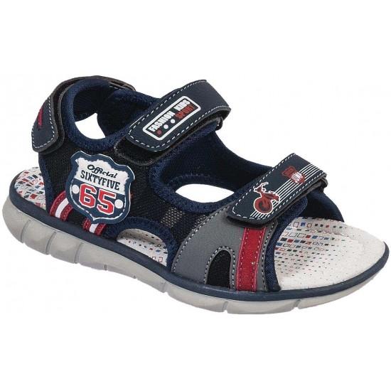 Adam's Shoes Παιδικά Πέδιλα 870-19008 Μπλέ