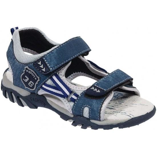 Adam's Shoes Παιδικά Πέδιλα 870-19010 Μπλέ