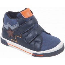 Adam's Shoes Παιδικά Μποτάκια 870-19502 Μπλέ
