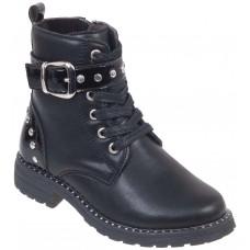 Adam's Shoes Παιδικά Μποτάκια 870-19509 Μαύρο