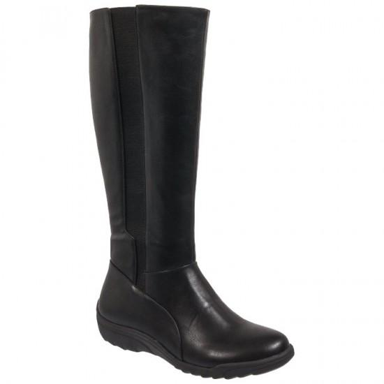 Adam's Shoes Γυναικείες Μπότες 874-18507 Μαύρο