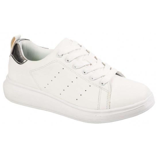 Adam's Shoes Γυναικεία Sneakers 921-19512 Λευκό