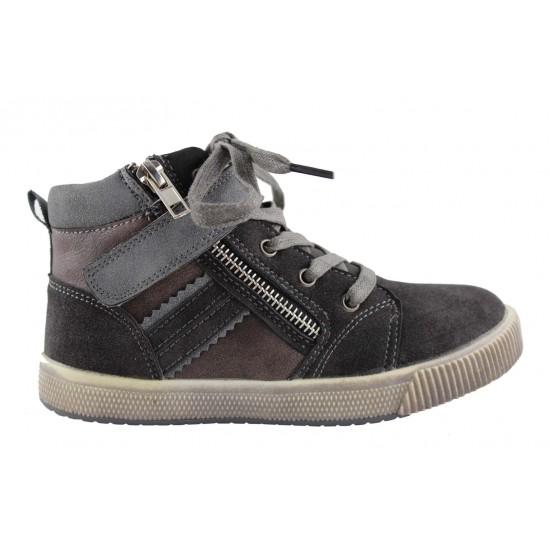 Adam's Shoes Παιδικά Μποτάκια 822-4571 Μαύρο