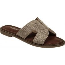 Adam's Shoes Γυναικεία Σανδάλια 822-21016 Χαλκός