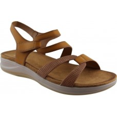 Adam¨s Shoes Γυναικεία Πέδιλα Flatforms 823-21008 Κάμελ