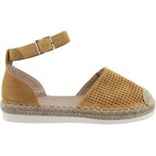 Adam's Shoes Γυναικείες Εσπαντρίγιες 911-21003 Κίτρινο