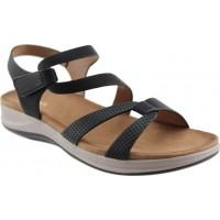 Adam¨s Shoes Γυναικεία Πέδιλα Flatforms 823-21008 Μαύρο
