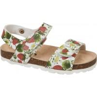 Adam's Shoes Παιδικά Πέδιλα 708-21008 Λευκό Φλοράλ