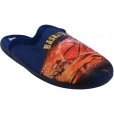 Adam's Shoes Παιδικές Παντόφλες 624-5589 Μπλέ
