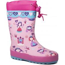 Adam's Shoes Παιδικές Γαλότσες 762-21536 Ροζ