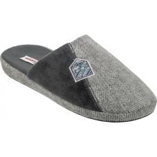 Adam's Shoes Ανδρικές Παντόφλες 895-21501 Γκρί