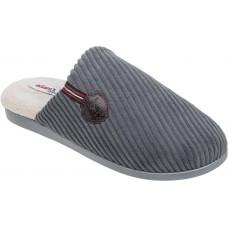 Adam's Shoes Ανδρικές Παντόφλες 895-21505 Γκρί