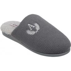 Adam's Shoes Ανδρικές Παντόφλες 895-21507 Γκρί