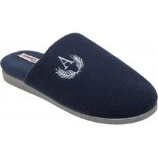 Adam's Shoes Ανδρικές Παντόφλες 895-21507 Μπλέ