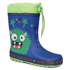 Adam's Shoes Παιδικές Γαλότσες 762-21541 Μπλέ