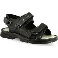 X-Feet Ανδρικά Πέδιλα A30 Μαύρο