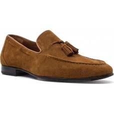 Damiani Ανδρικά Loafers Δέρμα 590 Ταμπά Suede