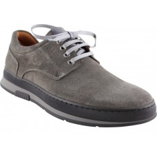 Damiani Ανδρικά Casual Δέρμα 1503 Γκρί Suede