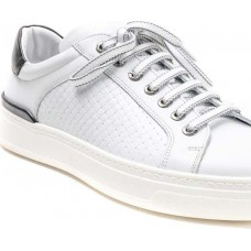 Damiani Ανδρικά Sneakers Δέρμα 2650 Λευκό