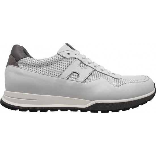 Damiani Ανδρικά Sneakers Δέρμα 1702 Λευκό
