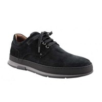 Damiani Ανδρικά Casual Δέρμα 1503 Μαύρο Suede