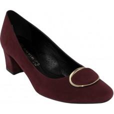 Envie Shoes Γυναικείες Γόβες E02-08304-39 Μπορντώ Suede