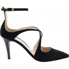 Envie Shoes Γυναικείες Γόβες E02-09052-34 Μαύρο Suede