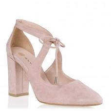 Envie Shoes Γυναικείες Γόβες E02-07411-90 Nude Suede