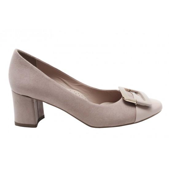 Envie Shoes Γυναικείες Γόβες E02-07162-90 Nude Suede