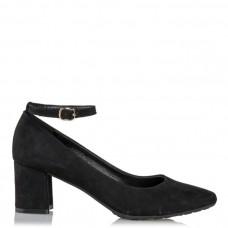 Envie Shoes Γυναικείες Γόβες E02-08305 Μαύρο Suede
