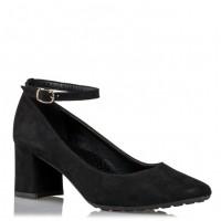 Envie Shoes Γόβες E02-08305 Μαύρο Suede